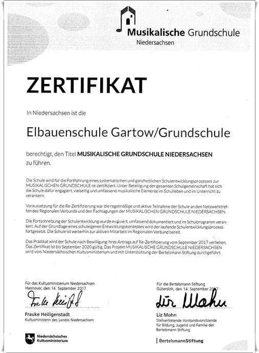 Gs Projekt Musikalische Grundschule Elbauenschule